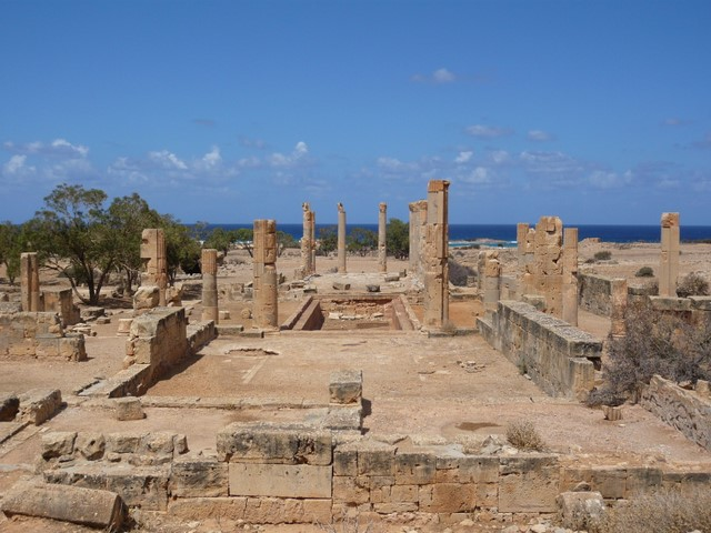 Ptolemais villa of columns