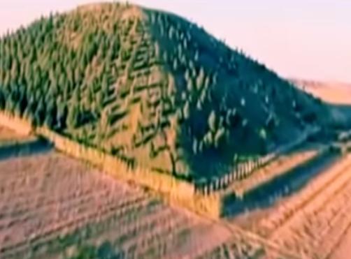 Pyramide chinoise vegetation