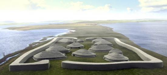 Reconstruction site orkney