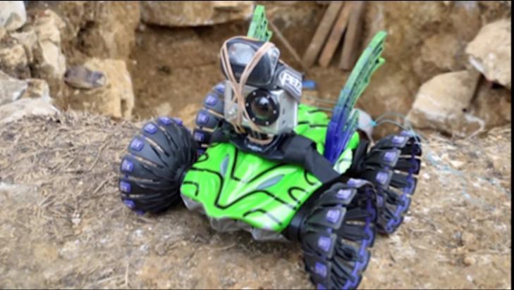 Robotpourpalenque mexique