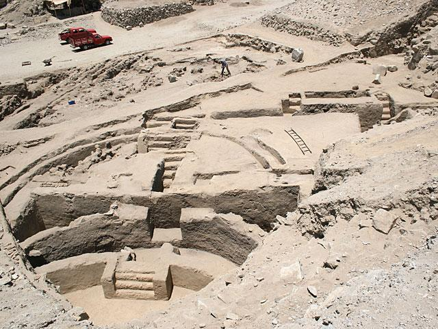 Sechin bajo fouilles2007 2008