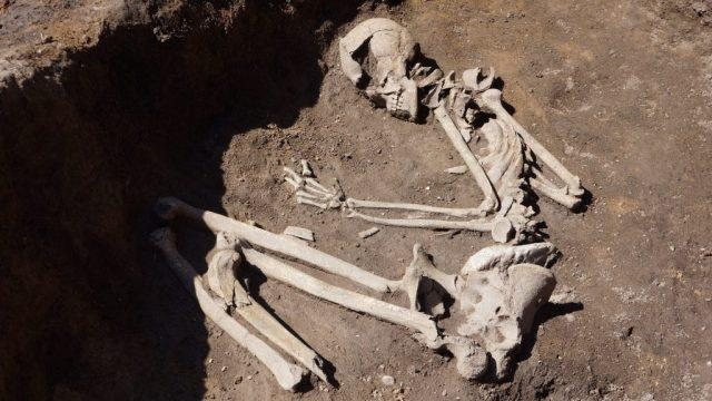 Slatina neolithic settlement sofia bulgaria 8000 year old graves prehistory 6
