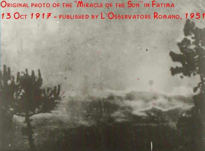 Soleil fatima 1917
