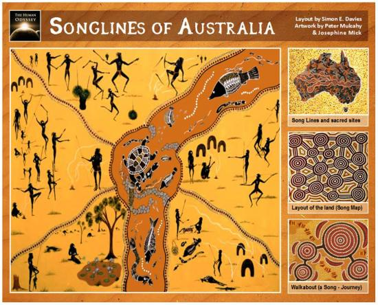 Songlines australia s e davies