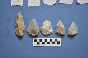 Spearheads mousterian neandertal mini
