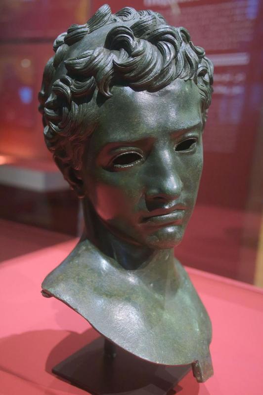 Statue de juba ii maison dite du roi maure vollubilis maroc