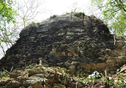 Stone structure unknown city tamchen