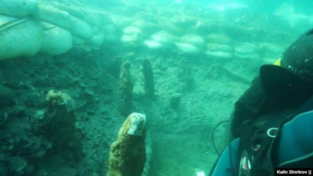 Submerged prehistoric settlement black sea bulgaria copper age 2