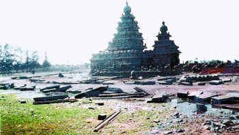 Temple aprestsunami
