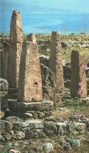 Temple aux obelisques de byblos