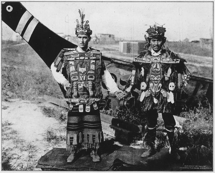 The kwakiutl indians of vancouver island postcard nara 297251 2