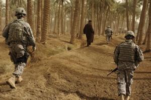 The u s army iraq patrol