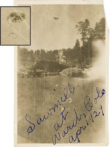 Ufo april 1929 ward colorado usa