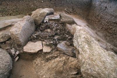 Vue du dolmen d oberbipp