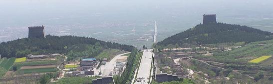 Xian mausolee qianling
